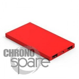 Powerbank Slim 6200mAh - Rouge