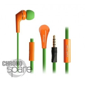 Ecouteurs Intra-auriculaires AWEI Q7i Vert/Orange