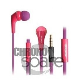 Ecouteurs Intra-auriculaires AWEI Q7i Violet/Rose