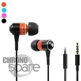 Ecouteurs Intra-auriculaires AWEI Q3i Rouge