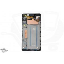 Ecran LCD et Vitre tactile Noire Sony Xperia C4 (officiel) A/8CS-59160-0001
