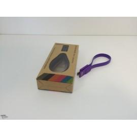 Câble Micro USB Compact aimanté Violet