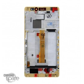 Ecran LCD & Vitre Tactile or + Chassis Huawei Mate S