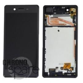Ecran LCD & Vitre Tactile noire Sony Xperia X F5121 F5122 (officiel) 1302-4791