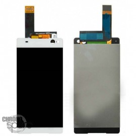 Ecran LCD et Vitre Tactile blanche Sony Xperia E5 F3311 (officiel) 78PA4100010