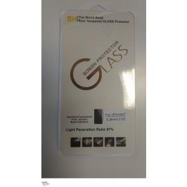 Vitre de protection en verre trempé IPhone 7 avec Boîte