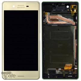 Ecran LCD & Vitre Tactile Vert Sony Xperia X dual F5121 F5122 (officiel) 1302-4798