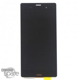 Ecran LCD et Vitre tactile sans châssis Noir Xperia Z3 (Compatible AAA)
