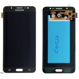 Ecran LCD et Vitre Tactile Noire Samsung J7 2016 J710F (compatible)