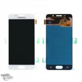 Ecran LCD + Vitre tactile blanche Samsung A3 2016 A310F compatible