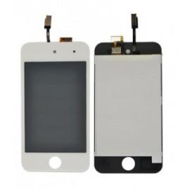 Ecran LCD + vitre tactile iPod touch 4 Blanc
