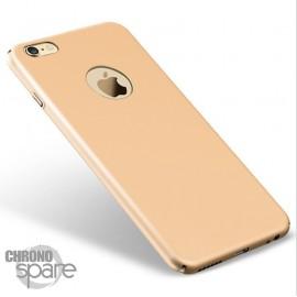 Coque ultra fine effet métallisé Or iPhone 5