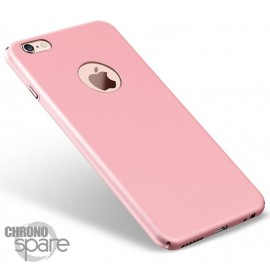 Coque ultra fine effet métallisé Rose iPhone 5
