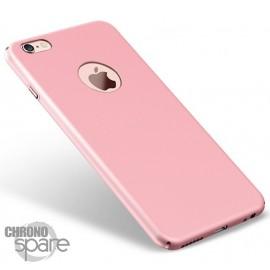 Coque ultra fine effet métallisé Rose iPhone 5s