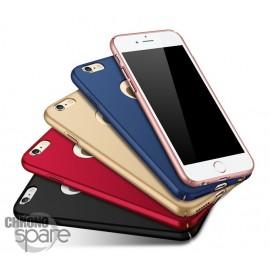 Coque ultra fine effet métallisé Rose iPhone 7