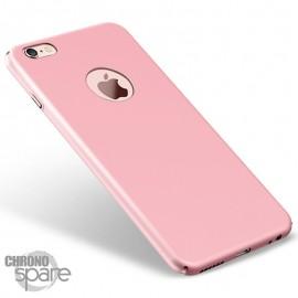 Coque ultra fine effet métallisé Rose iPhone 6