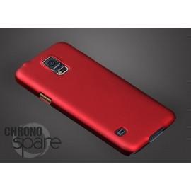 Coque ultra fine effet métallisé Rouge Samsung S5 G900
