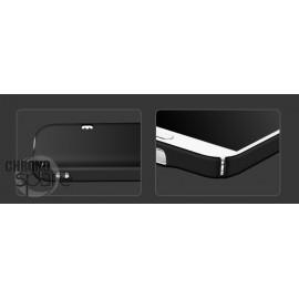 Coque ultra fine effet métallisé Noire Samsung S5 G900