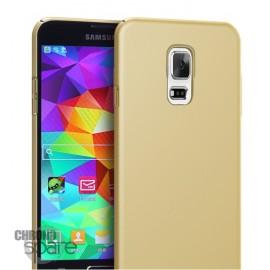 Coque ultra fine effet métallisé Or Samsung S5 G900