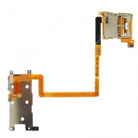 Nappe bouton L R+ port SD Nintendo DSi