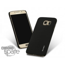Coque ultra fine effet métallisé Noire Samsung S6 G920