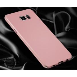 Coque ultra fine effet métallisé Rose Samsung S6 G920