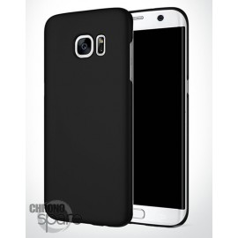 Coque ultra fine effet métallisé Noire Samsung S6 edge plus G928