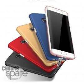 Coque ultra fine effet métallisé Rose Samsung S6 edge plus G928