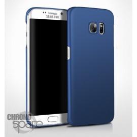 Coque ultra fine effet métallisé Bleu Samsung S7 edge G935