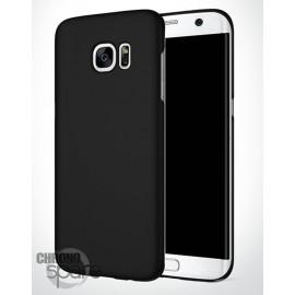 Coque ultra fine effet métallisé Noire Samsung S7 edge G935