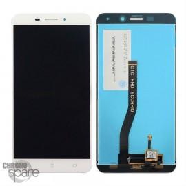Ecran LCD + vitre tactile Asus Zenfone 3 Laser Blanc Zc551kl