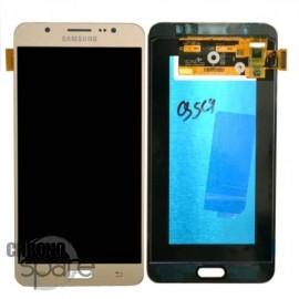 Ecran LCD et Vitre Tactile Or Samsung J7 2016 J710F (compatible)