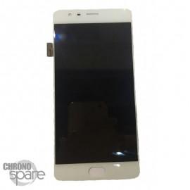 Ecran LCD et Vitre Tactile Blanc OnePlus 3