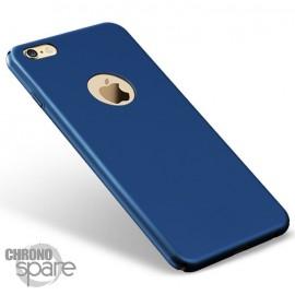 Coque ultra fine effet métallisé Bleu iPhone 7 plus
