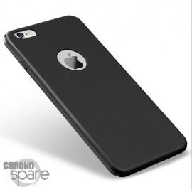 Coque ultra fine effet métallisé Noire iPhone 7 plus