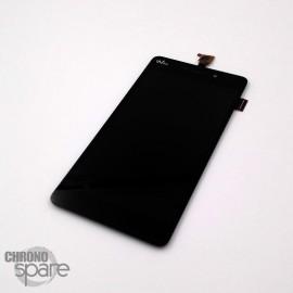 Ecran LCD + Vitre Tactile Wiko Slide Noir compatible