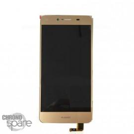 Bloc LCD + Vitre tactile Or Huawei Y5 II