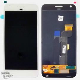 Bloc LCD + Vitre tactile Blanc Google Pixel G-2PW4200 (officiel) 83H90204-02