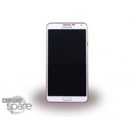 Vitre tactile + écran LCD Samsung Galaxy Note 3 N9005 Blanc or (officiel) GH97-15209E