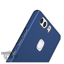 Coque ultra fine effet métallisé Bleu Huawei P9