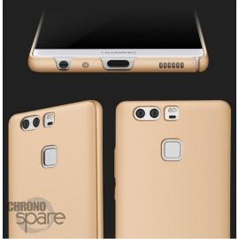 Coque ultra fine effet métallisé Or Huawei P9