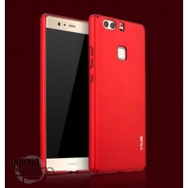 Coque ultra fine effet métallisé Rouge Huawei P9