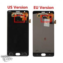 Ecran LCD et Vitre Tactile noire OnePlus 3