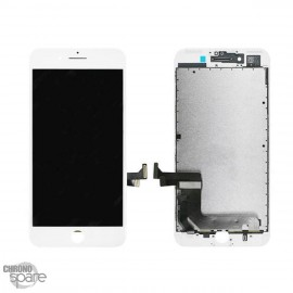 Ecran LCD + vitre tactile iphone 7 plus Blanc (Tianma LCD)