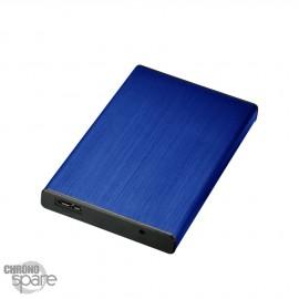 Boitier externe disque dur 2.5 pouces (12,5mm) SATA USB 3.0 haut Blanc