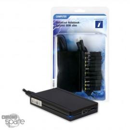 Chargeur Universel - 90W + 10 adaptateurs + connecteur USB