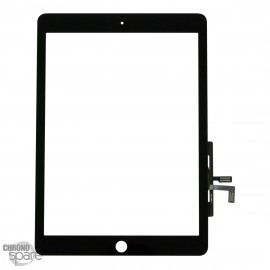 Vitre tactile noire + scotch 3M iPad Air (sans bouton)
