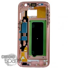 Chassis intermédiaire Rose Samsung Galaxy S7 G930F