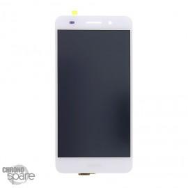 Ecran LCD + Vitre Tactile Blanche Huawei Y6 II