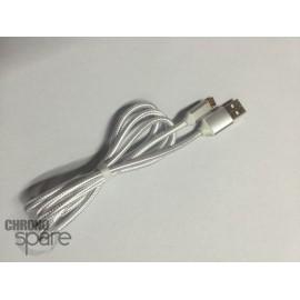 Câble Métal Lightning - Argent